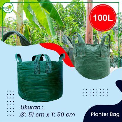 Gambar PLANTER BAG ECO PACK 100 LITER 4 HANDLES