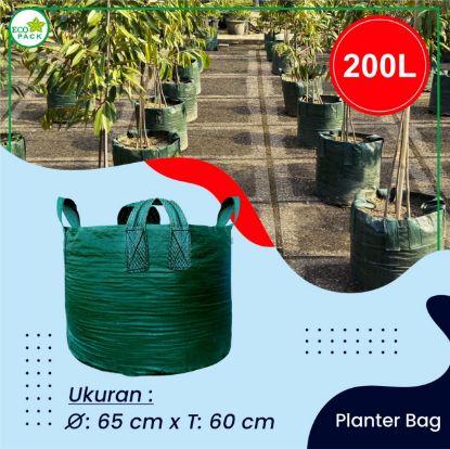 Gambar PLANTER BAG ECO PACK 200 LITER 4 HANDLES