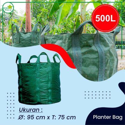 Gambar PLANTER BAG ECO PACK  500 LITER 4 HANDLES SLING BELT